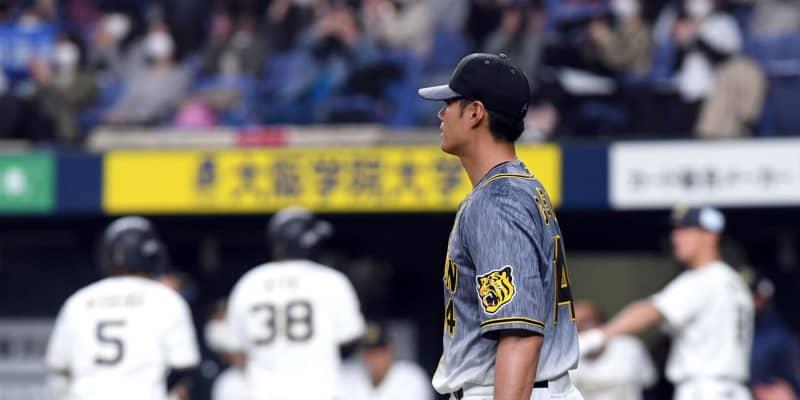 阪神・チェンが2軍で敗戦投手 魔の六回3長短打1四球で逆転許す