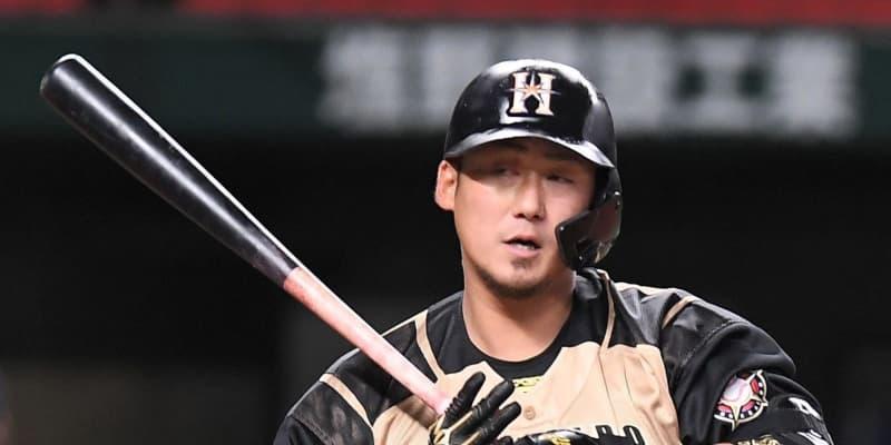 日本ハム・中田7試合ぶり打点 7球粘りV押し出し四球