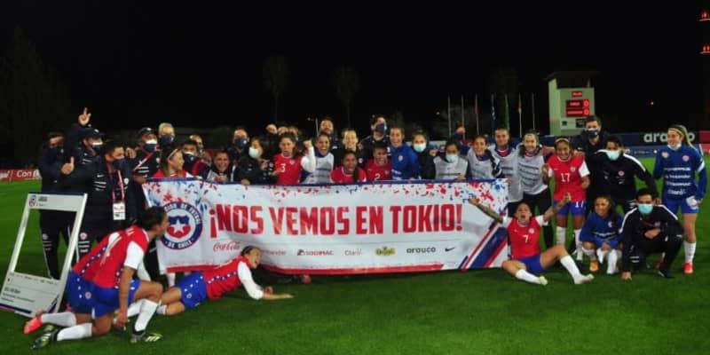 東京五輪、女子サッカーの出場12か国が決まる!初出場のチリは歓喜爆発