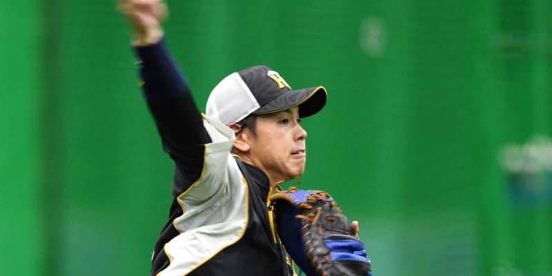 阪神・梅野、五輪「出たい」 勝てる捕手としてアピール続ける