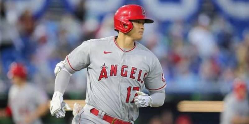 【MLB】大谷翔平、快足内野安打に米メディア唖然 「ジェットを起動」「普通の内野ゴロを…」