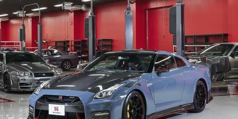 日産GT-Rニスモ、2022年モデルを先行公開…新色「ニスモステルスグレー」を設定