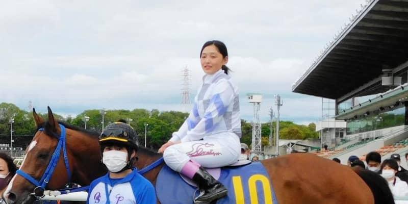 【地方競馬】兵庫初の女性騎手・佐々木世麗が初勝利 デビューから2日 メインレースで決めた