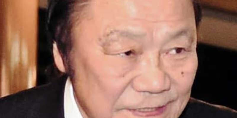 """""""炎の男""""輪島功一氏がジム会長退任 次男の大千氏が後任"""