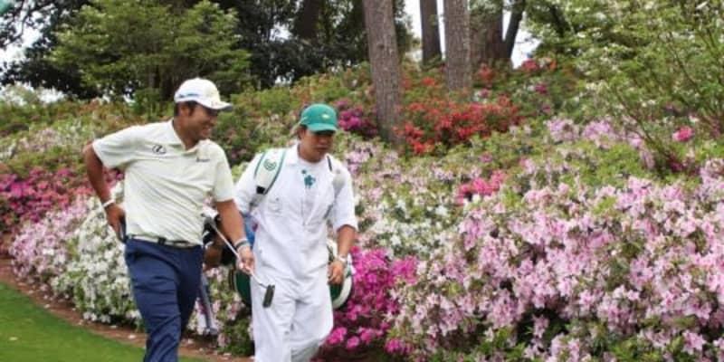 松山英樹、世界が称賛の早藤キャディの行いに「僕も一緒にできたらよかった」