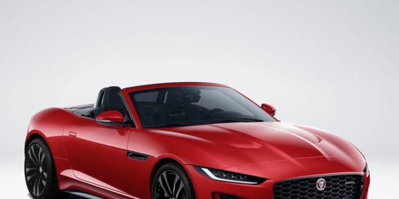 ジャガー『Fタイプ』に2022年型、「Rダイナミックブラック」を欧州設定
