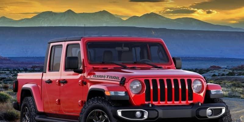 ジープ、米国最大のピックアップトラック市場に敬意…『グラディエーター』に初のテキサス限定車