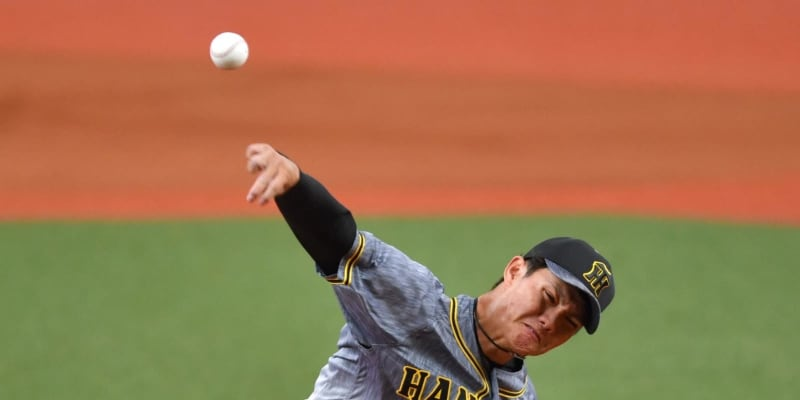 """阪神2軍 西純が""""大人の投球""""で6回2失点「バランス良く投げられました」"""