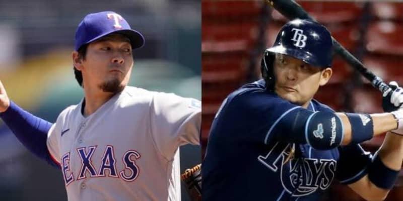 【MLB】筒香嘉智、有原航平とメジャー初対決へ 「7番・DH」で3試合連続先発出場