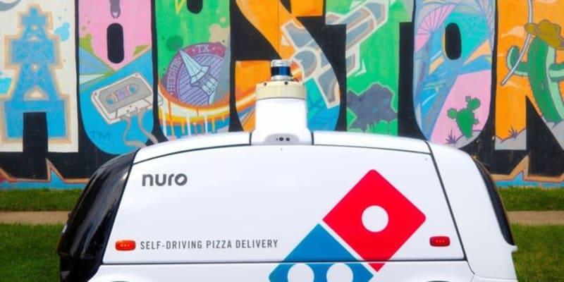 無人自動運転車がピザの配達を開始 トヨタの投資ファンドが出資のニューロ