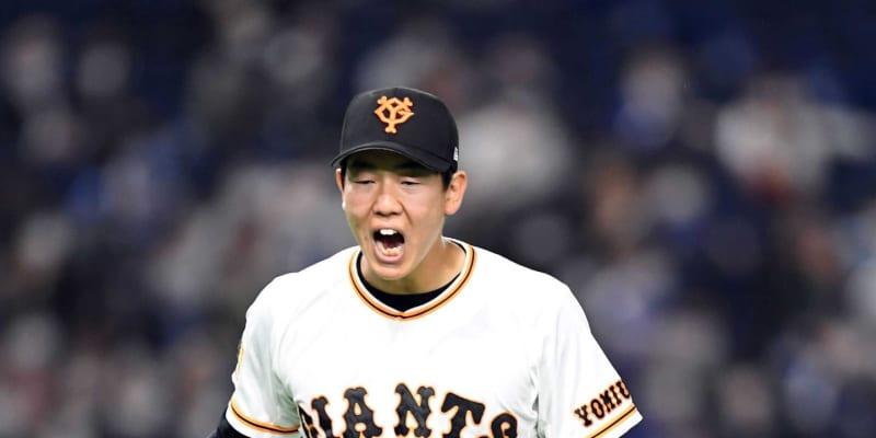 巨人・畠 今季初勝利 次回は阪神戦21日「後輩には打たれたくない」佐藤輝と近大対決
