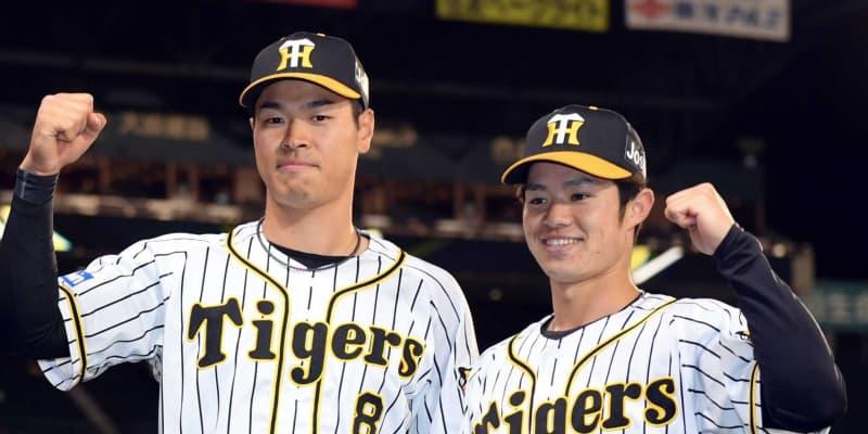 阪神 ドラ6中野が突破口「読みも含め振りにいけた」同期の佐藤輝とお立ち台