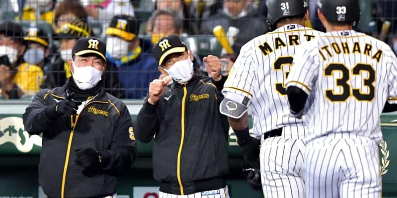 阪神 矢野監督初の貯金8 ルーキー中野&佐藤輝「チーム内競争を激しくしてくれている」