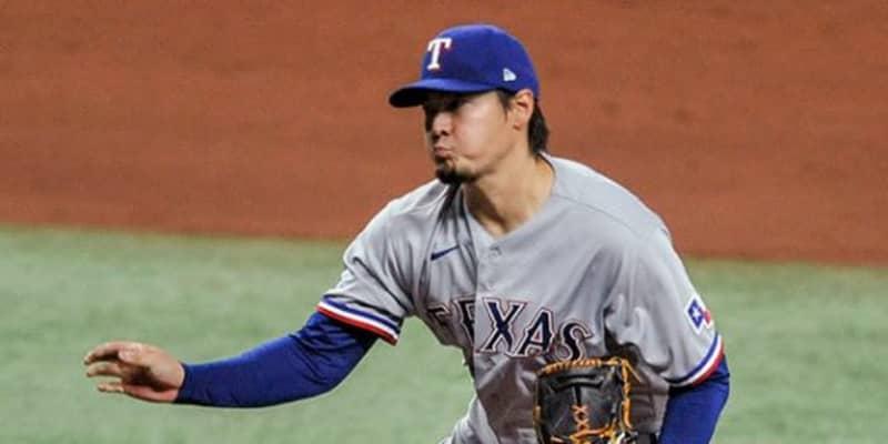 【MLB】有原航平、逆転ピンチで筒香嘉智を三振斬り 6回途中無失点、初勝利権利持って降板