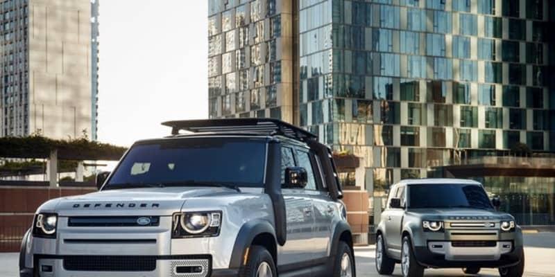 ランドローバー世界販売22%増、ディフェンダー 新型が貢献 2021年第1四半期