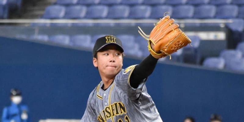 阪神ドラ5村上プロ最長3回を0封 七回無死満塁も無失点 ウエスタン・オリックス戦