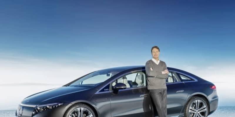 【メルセデスベンツ EQS】新型EV発表、Sクラス に相当…航続は770km