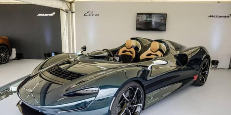屋根もフロントガラスもない!2億円のマクラーレン『エルバ』が登場…ジャパンボートショー2021
