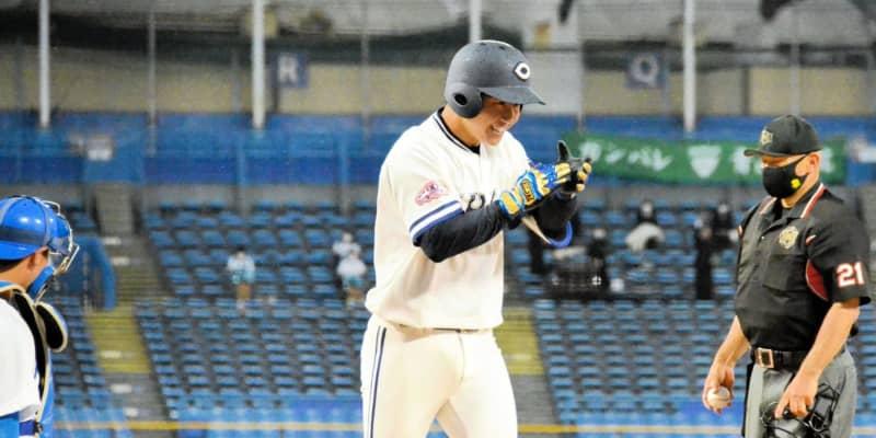 今秋ドラフト候補の中大・古賀が決勝3ラン 日本ハムスカウト「大学生でナンバーワン」