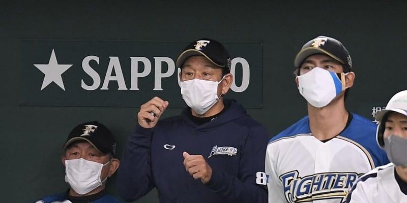 日本ハム・栗山監督 12球団ワーストのチーム打率に「心配な選手はいっぱい」