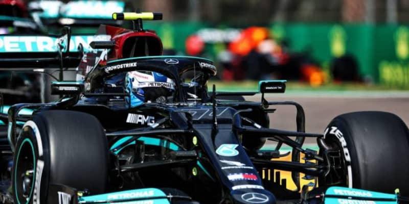 エミリア・ロマーニャGP FP2:初日はメルセデス勢が1-2。フェルスタッペンにトラブル発生、走行はわずか5周