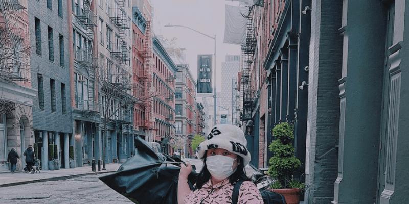渡辺直美が渡米を報告「無事ニューヨーク着きました🗽💗」