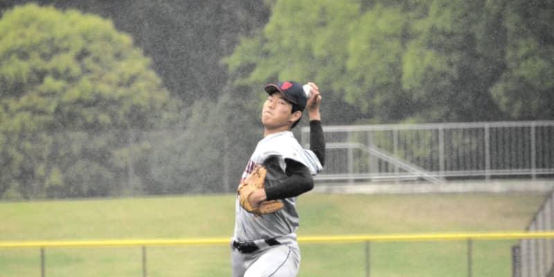 立花学園の剛腕、永島田輝斗は横浜相手に四回途中4失点 オリックスなど評価