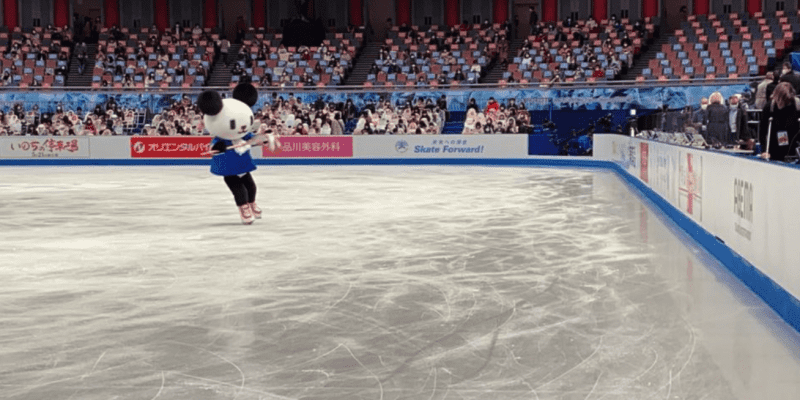 【動画】ゴーちゃんが氷上で〇〇?!「凄い!」「思った以上に綺麗なフォーム…!」