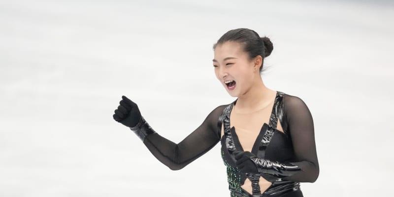 坂本花織2位 自己ベスト!日本女子2人目の150点超え「土台が認められた」