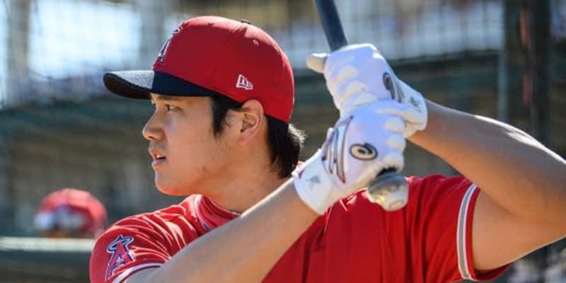 【MLB】大谷翔平「2番・DH」で出場、日米通算100号に期待 元同僚シューメーカーと対戦へ