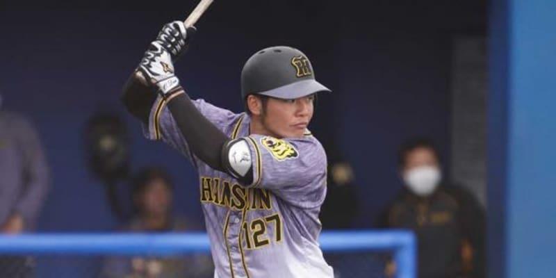 阪神が育成外野手の小野寺と支配下契約 背番号「97」、2軍戦で打率.328と好調