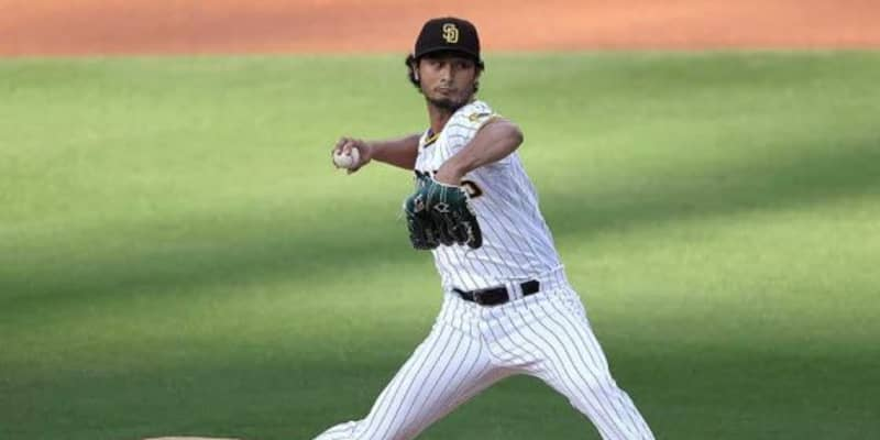 【MLB】ダルビッシュ、3回まで5奪三振の完全投球! エース左腕カーショーと痺れる投げ合い