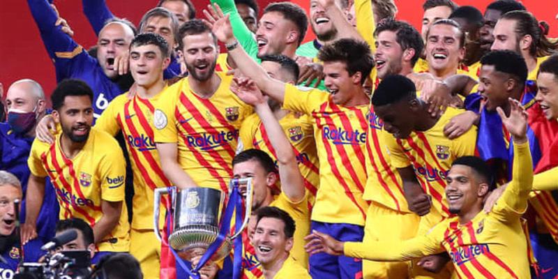 メッシが決勝でドブレーテ!バルセロナ、圧巻4発でビルバオ粉砕し3年ぶり31回目のコパ優勝!