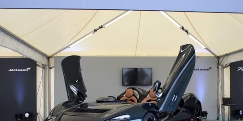 ブルースの悲願…マクラーレン エルバ、走行可能なモデルが登場