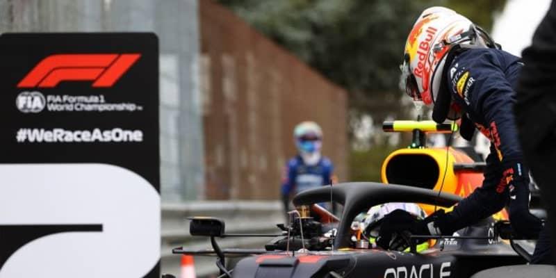約2年ぶりに僚友に敗れたフェルスタッペン「僕はロボットじゃない。たまにはミスをする」レッドブル・ホンダ/F1第2戦予選