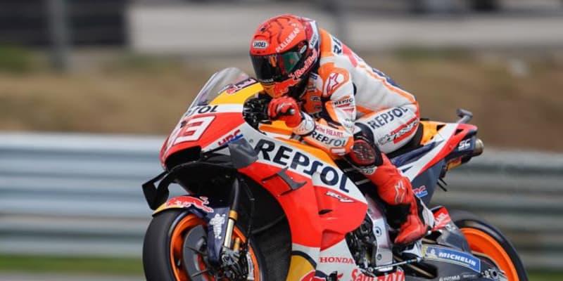M.マルケス、復帰戦で6番手「この順位にとても驚いた。レースの目標は完走」/MotoGP第3戦ポルトガルGP予選