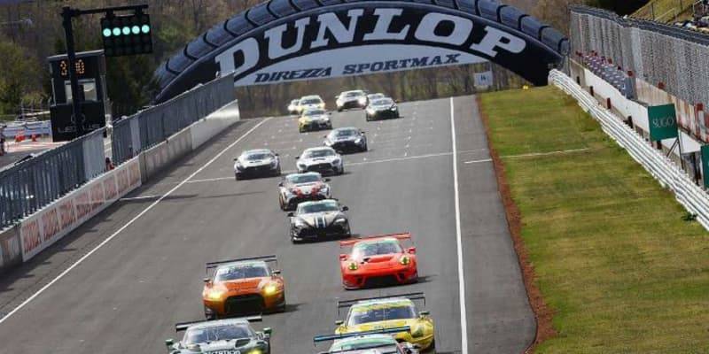 ドライはポルシェ強し。PC Okazaki 911 GT3Rが2年連続でSUGOを制す【S耐第2戦SUGO Gr-1決勝】