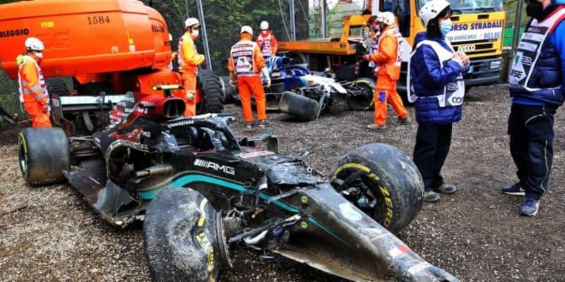 ライコネンとストロールが降格、ボッタス&ラッセルの接触は不問。リザルト変更でガスリーが7位に/F1第2戦