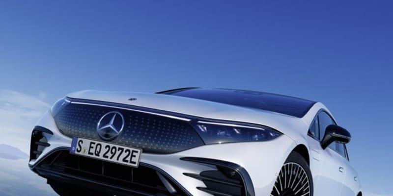 メルセデスベンツ『EQS』に「AMGライン」、EVセダン初のスポーティ仕様を欧州設定