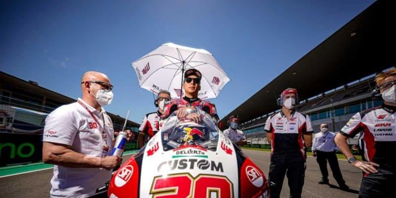 中上貴晶「最後尾からまさか10位を獲得できるとは」/MotoGP第3戦ポルトガルGP決勝
