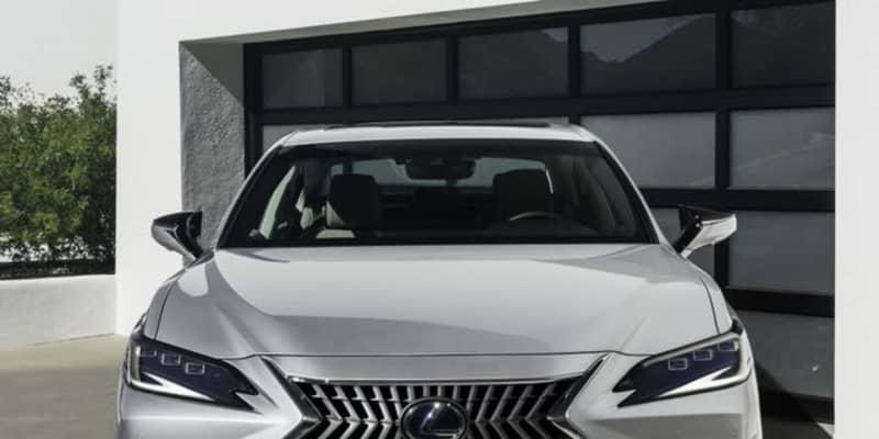 レクサス ES に改良新型、表情変化…上海モーターショー2021で発表