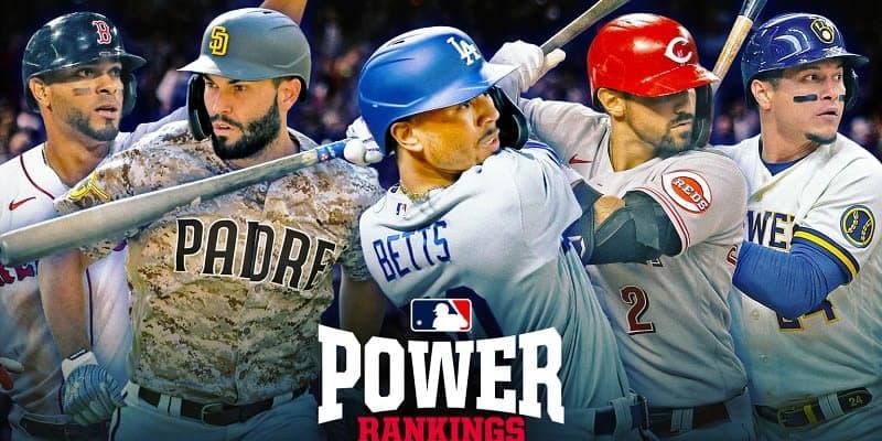 最新のパワー・ランキング トップ5に3球団が新規ランクイン