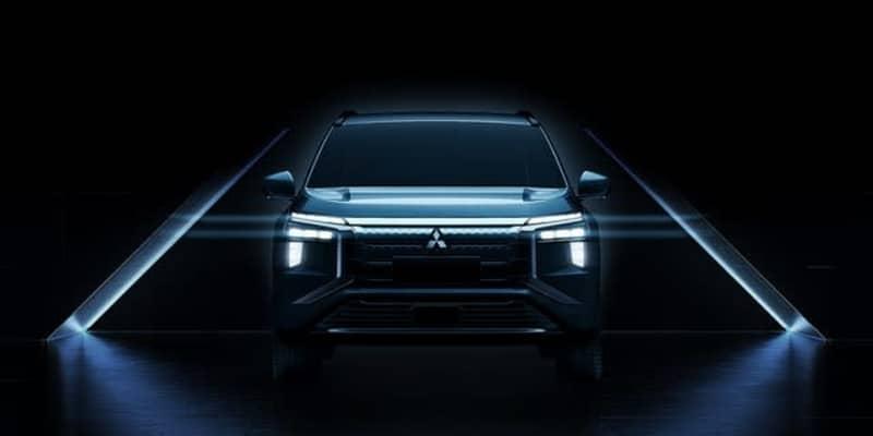 三菱自動車、新型電動SUV『エアトレック』のデザイン公開…上海モーターショー2021