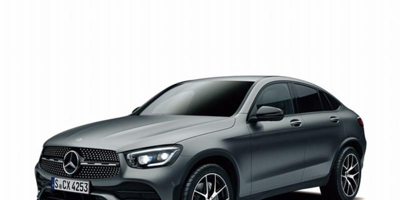 メルセデスベンツ GLCクーペ に特別仕様…艶消しグレーの専用外装色、スポーティな内外装
