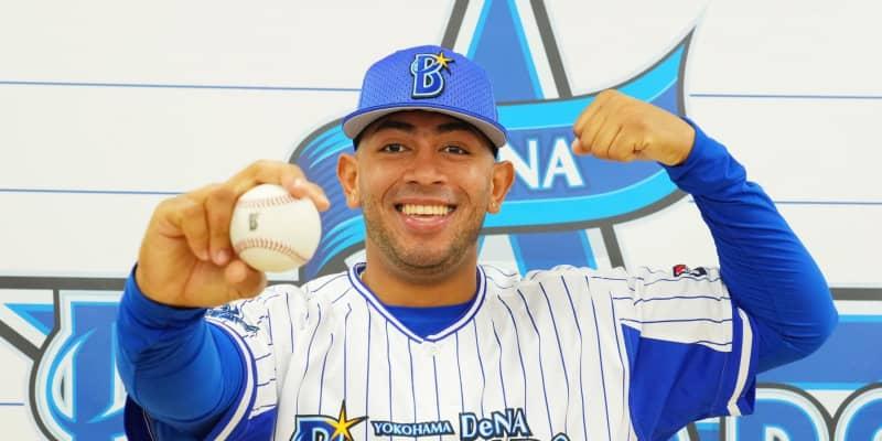 大谷と投げ合ったDeNAの新外国人ロメロが入団会見「自分も速い球を投げられる」