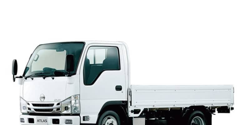 日産 アトラス 1.5t2tクラス、先進安全装備を拡充---全車LEDヘッドランプ採用