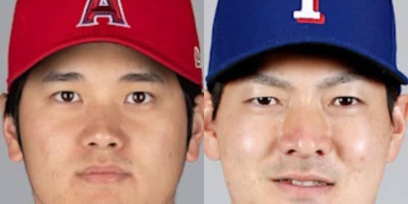 大谷翔平、「2番・DH」でハム時代同僚の有原と初対決 日米通算100本塁打に王手