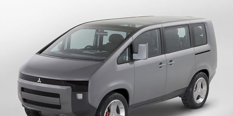 近未来的! なのに市販版そっくり!? 三菱が発表した東京モーターショーのデリカD:5コンセプトカーが絶妙な格好良さだった