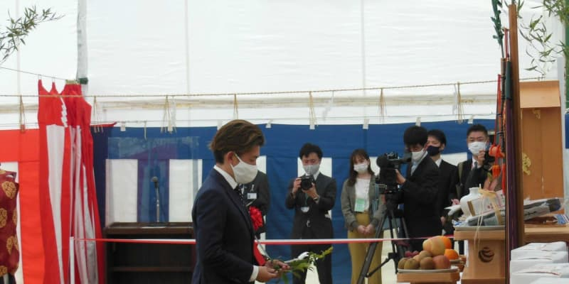 京都競馬場で整備工事起工式 福永「より快適な環境で競馬観戦ができる」