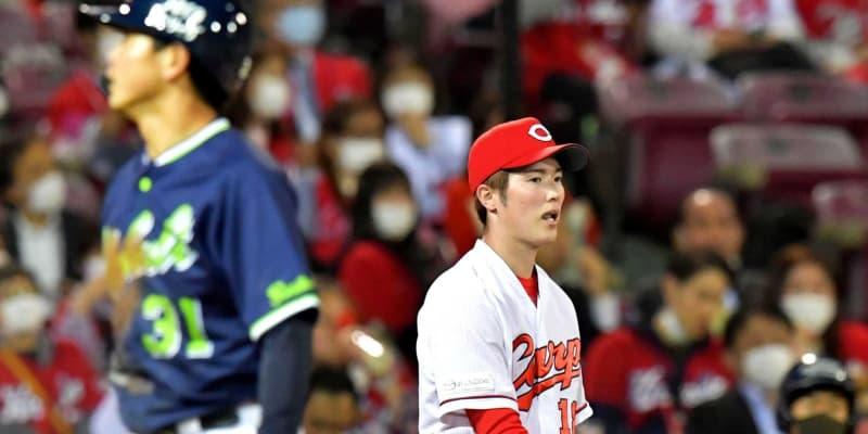 広島・森下 プロ初の連敗「もちろん嫌です」「四球はだめ」笑顔なし